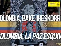 Colombia, la paz esquiva