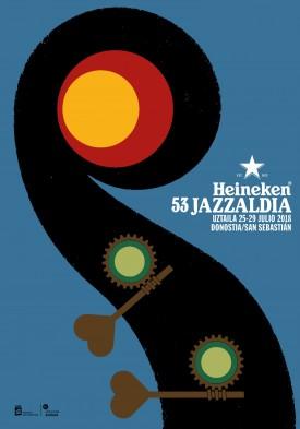 53 Heineken Jazzaldiko kartela