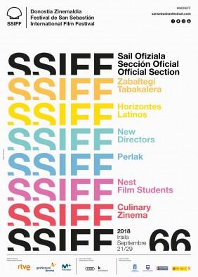 Cartel del Festival de San Sebastián