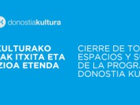COVID-19: Donostia Kultura