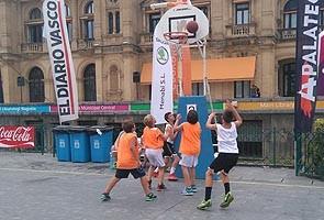XX Tournoi de basket 3*3 « Laboral Kutxa » Aste Nagusia.