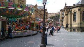 Ferial infantil en la calle Urdaneta.