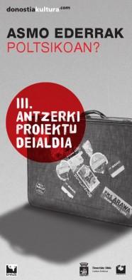 III. Antzerki Proiektu Deialdia