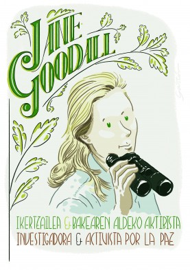 Jane Goodall – Researcher and peace activist