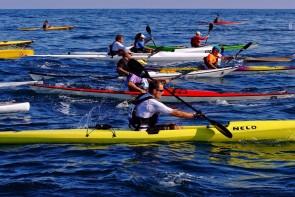 Getaria - Donostia kayak.