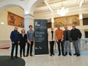Literaktum 2019: aurkezpeneko argazkia