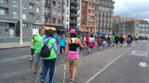 3ª travesia nordic walking de Semana Grande.