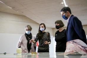 Platina erakusketaren aurkezpeneko irudi bat. Argazkia: O Moreno