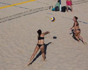 Torneo voley playa en San Sebastián