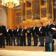 Coro de Gaztelubide en colaboración con miembros del Orfeón Donostiarra