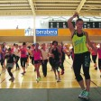Zumba Fest, warmup exercises